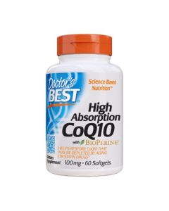 Doctor's Best - CoQ10  - 60 softgels (100mg)