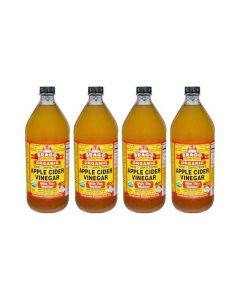 Bragg - Apple Cider Vinegar - 946 ml - Set van 4 Flessen