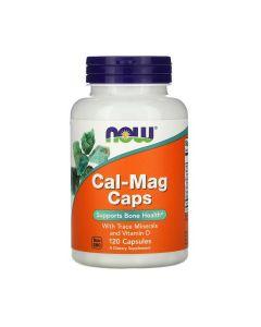 NOW - Calcium & Magnesium & Vit D - 120 caps