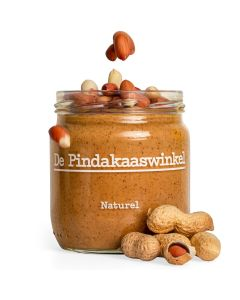 Pindakaas - Naturel met Pindastukjes - 420ML