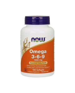 Now Foods - Omega 3-6-9 - 100 softgels (1000mg)