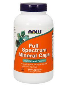 NOW - Full Spectrum Mineral Caps - 240 v-caps
