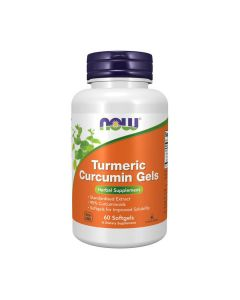 NOW - Curcumin - 60 softgels