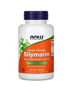 Now Foods, Silymarin, Milk Thistle Extract, 300 mg, 100 Veg Capsules