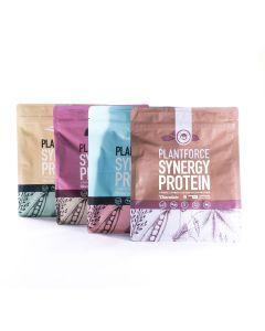 Plantforce - Synergy Proteine - Alle Smaken - 4 x 800 g (3+1 Gratis)