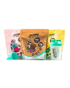 Jimmy Joy - Plenny Shake - Chocolade Vanille Aardbei pakket - 3 x 950 gram