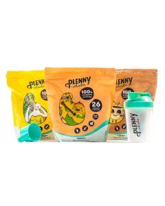 Jimmy Joy - Plenny Shake - Mango Banaan Koffie pakket - 3 x 950 gram