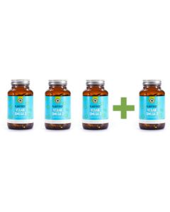 Plantforce - Vegan Omega-3 Algae Oil - 120 softgels (3+1 free)