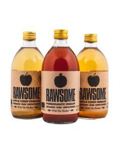 Rawsome Appelazijn pakket - 3 smaken tesamen