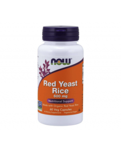 Now Foods - Red Yeast Rice - 60 v-caps (600mg)