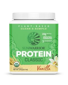Sunwarrior - Classic Proteine - Vanille - 375 gram