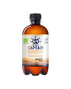 Captain Kombucha - Ginger Lemon - Bio - 400ml