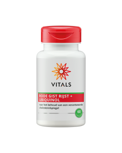 Vitals - Rode Gist Rijst met Ubiquinol - 60 capsules