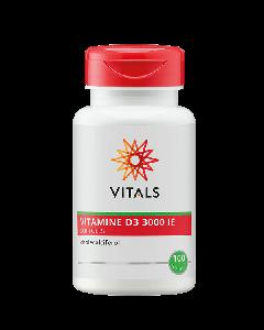 Vitals - Vitamine D3 3000 ie - 100 Softgels