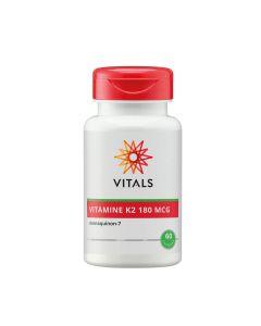 Vitals - Vitamine K2 (menaquinon-7) - 60 Capsules (180mg)