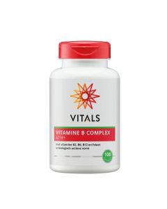 Vitals - Vitamine B Complex Actief - 100 capsules