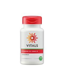 Vitals - Vitamine D3 3000 IE - 100 capsules