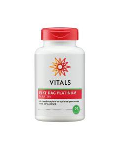 Vitals - Elke Dag Platinum -  60 Tabletten