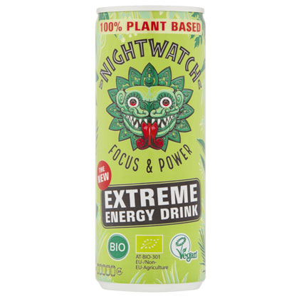 nightwatch energy drink vegan