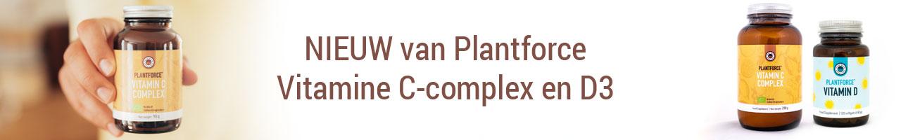 plantforce vitamine c-complex en vitamine D
