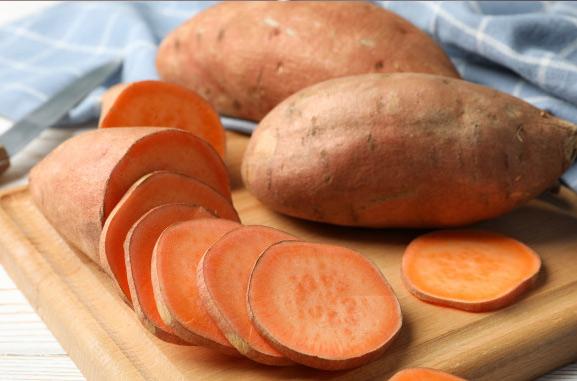 zoete aardappelpoeder